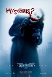 THE DARK KNIGHT- WHY SO SERIOUS - BATMAN JOKER