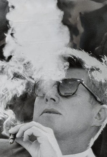 President Kennedy Smoking