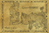 Game of Thrones - Antique Map