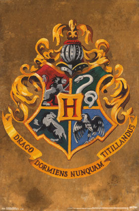 Harry Potter - Hogwarts Crest