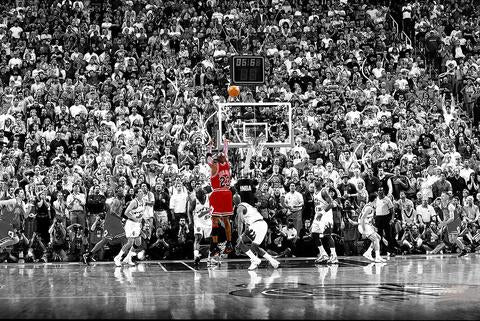 Michael Jordan Last Shot vs Jazz