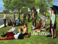 Office Seurat Painting