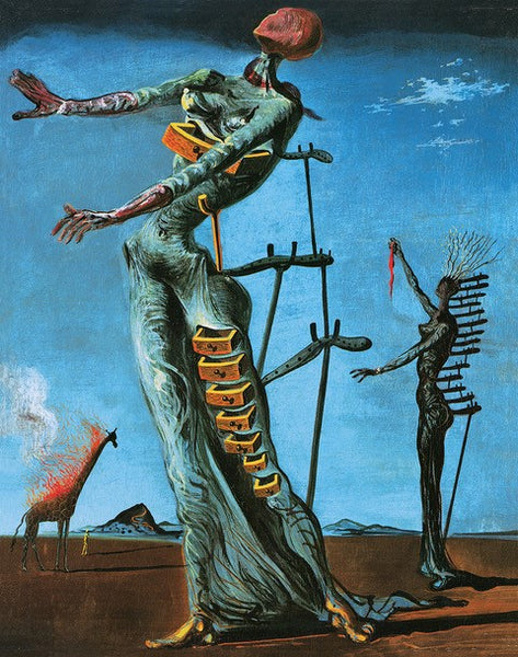 Dali - Burning Giraffe