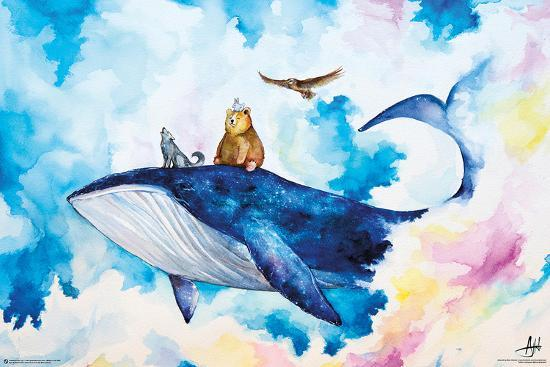 Adventure Time - Marc Allante Whale