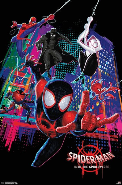 Spider Man: Into the Spider-Verse Group