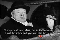 Churchill - Drunk Quote
