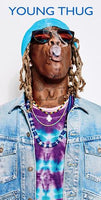 Young Thug Blue Background