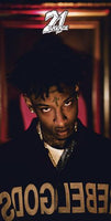 21 Savage Looking Up