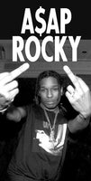 ASAP Rocky Middle Fingers