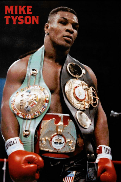 Mike Tyson - Belts