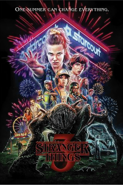 Stranger Things 3 - Collage