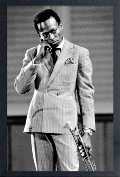 Miles Davis - Striped Suit