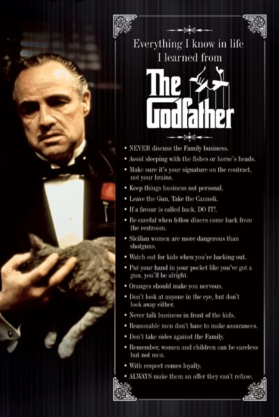 THE GODFATHER EVERYTHING I KNOW