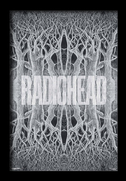 Radiohead King of Limbs Framed Gelcoat