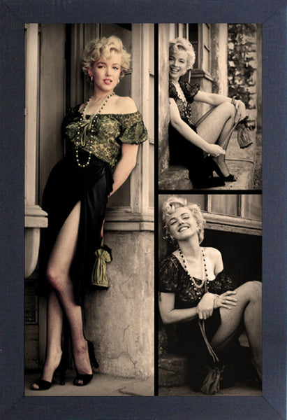 Marilyn Monroe - Doorway Framed Gelcoat