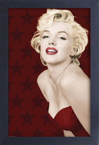 Marilyn Monroe - Stars Framed Gelcoat