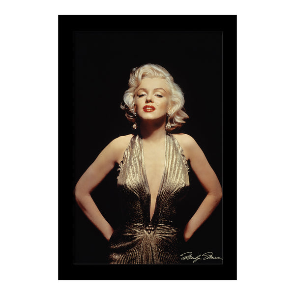 Marilyn Monroe - Gold Framed Gelcoat