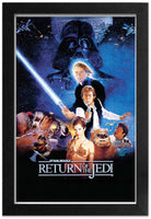 Star Wars - Return of the Jedi Framed Gelcoat