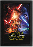 Star Wars - The Force Awakens Framed Gelcoat