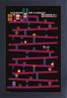 Donkey Kong - Level 1 Framed Gelcoat