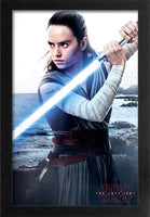 Star Wars - TLJ Rey Sea Framed Gelcoat