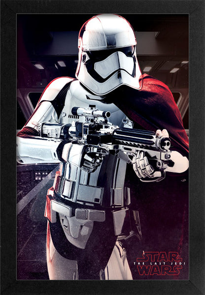 Star Wars - TLJ - Captain Phasma Framed Gelcoat