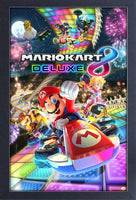 Super Mariokart 8 Deluxe Framed Gelcoat