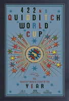 Harry Potter - Quidditch World Cup Framed Gelcoat