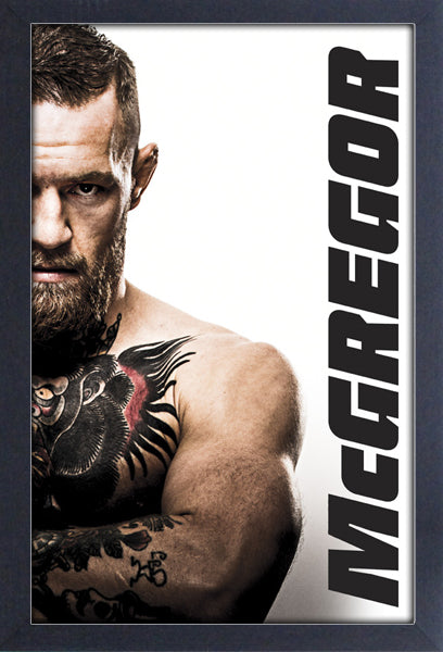 Conor McGregor Framed Gelcoat