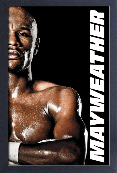 Floyd Mayweather Framed Gelcoat