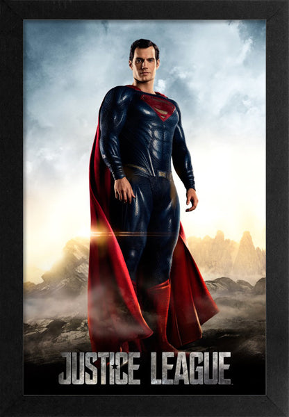 DC - Justice League - Superman Framed Gelcoat