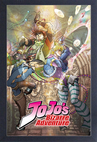 JoJo's Bizarre Adventure Dio Cover Framed Gelcoat