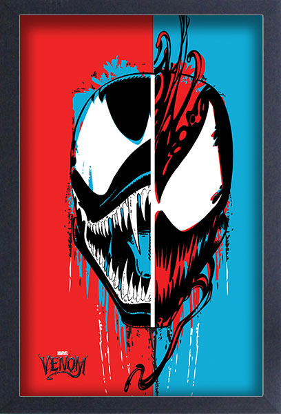 Venom Split Face Framed Gelcoat