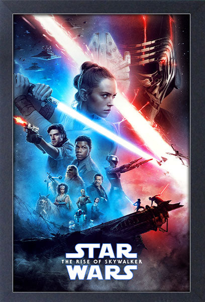 Star Wars - Episode IX One Sheet Framed Gelcoat