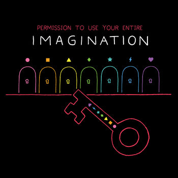 IMAGINATION (Soft Lightweight T-Shirt)
