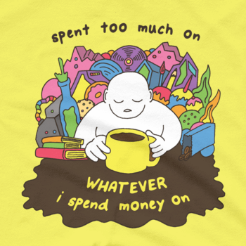 SPENT (Soft Lightweight T-Shirt)