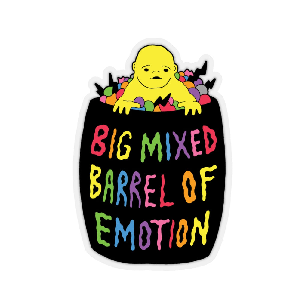 BARREL (Kiss-Cut Sticker)