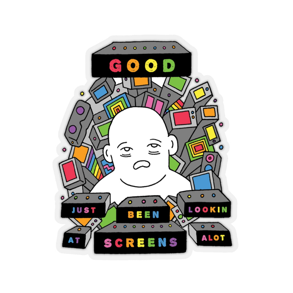 SCREENS (Kiss-Cut Sticker)