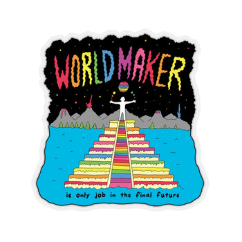 WORLDMAKER (Kiss-Cut Sticker)
