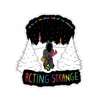 STRANGE (Kiss-Cut Sticker)