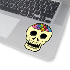 RAINBOW BRAINSKULL (Kiss-Cut Sticker)