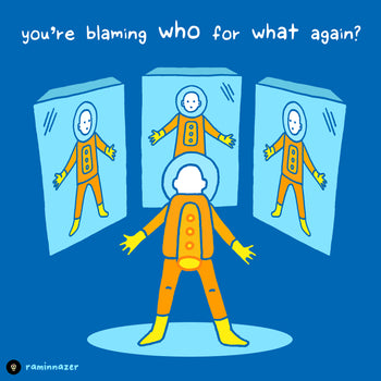 BLAMING (Soft Lightweight T-shirt)