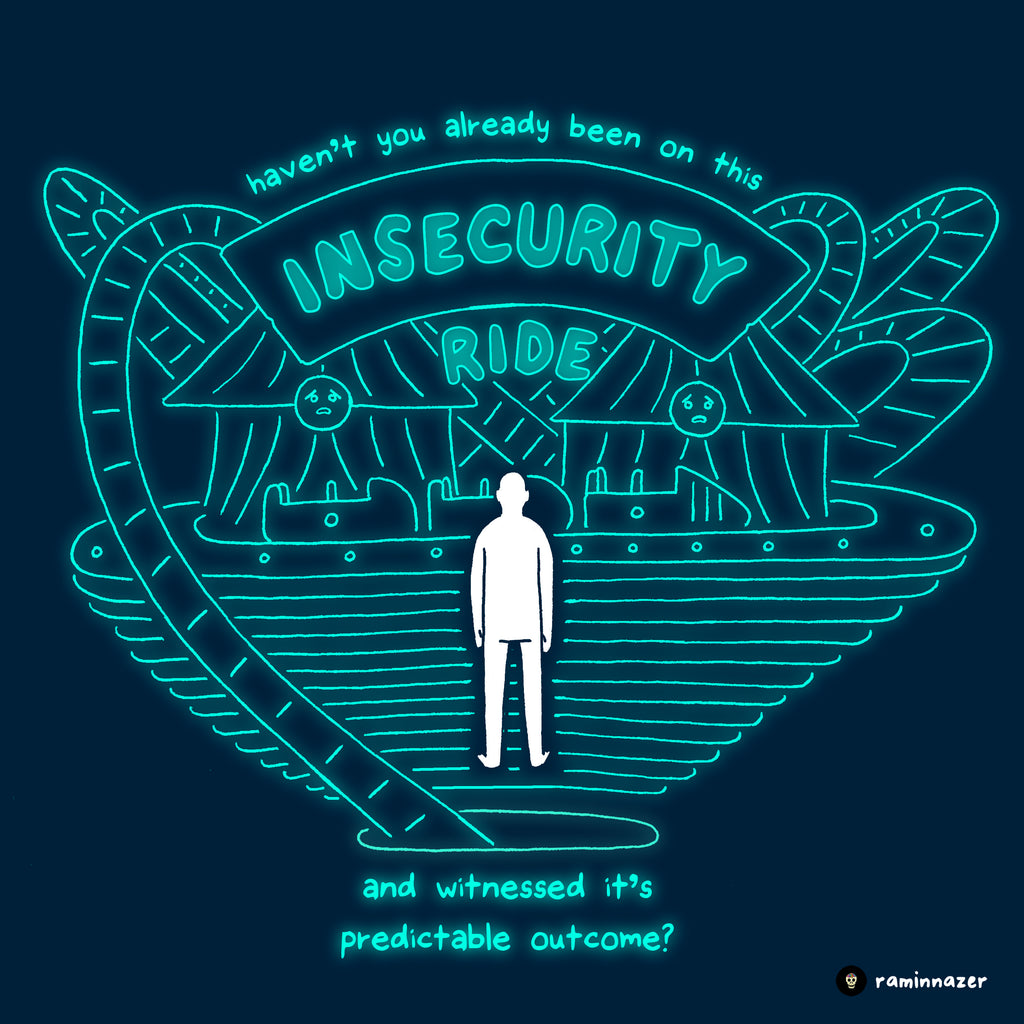 INSECURITY (Soft Lightweight T-shirt)