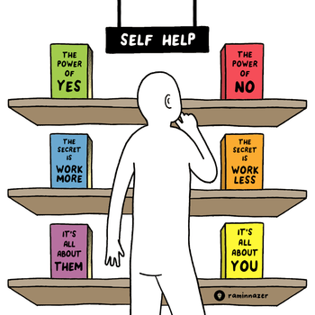 SELF HELP (Soft Lightweight T-shirt)