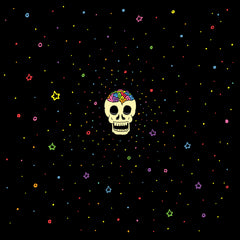 STARRY RAINBOW BRAINSKULL (Soft Lightweight T-shirt)