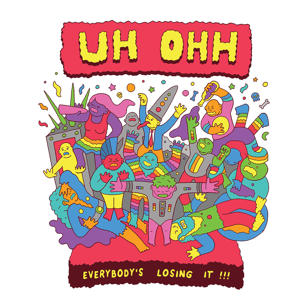 UH-OH (Soft Lightweight T-shirt)