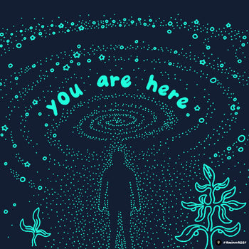 YOU ARE HERE (Soft Lightweight T-shirt)