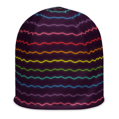 Electric Rainbow Beanie