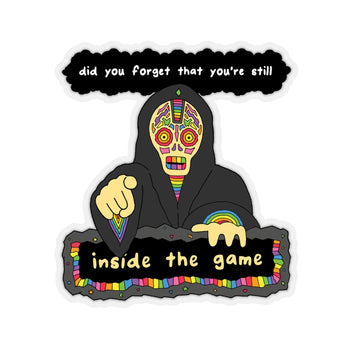 FORGET (Kiss-Cut Sticker)