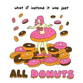 DONUTS (Soft Lightweight T-shirt)